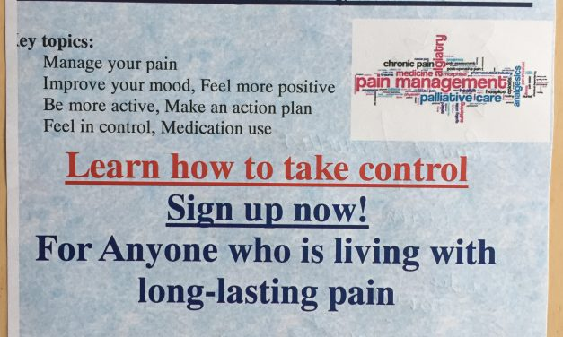 Take charge of your pain