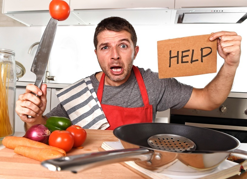 Free online cookery session – Man Made Meals
